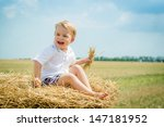 the happy smiling boy in the...   Shutterstock . vector #147181952