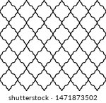 abstract geometry pattern in... | Shutterstock .eps vector #1471873502