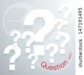 abstract background question...   Shutterstock .eps vector #147191495