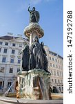 vienna   fountain from freiung... | Shutterstock . vector #147192788
