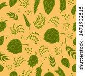 seamless hand drawn pattern...