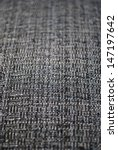 Gray fabric texture macro detail background vertical - stock photo