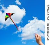 Kite Flying In A Beautiful Sky...