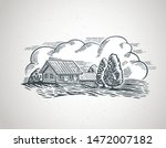 graphical illustration of a... | Shutterstock .eps vector #1472007182