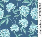 chrysanthemum flowers rudbeckia ... | Shutterstock .eps vector #1472008208