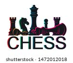 chess colorful figures pieces... | Shutterstock .eps vector #1472012018