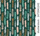 decorative seamless pattern...   Shutterstock .eps vector #1472041142
