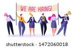 friendly business people in... | Shutterstock .eps vector #1472060018