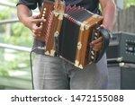 Zydeco accordian player ...