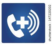 emergency call | Shutterstock .eps vector #147220202
