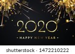 happy new year of glitter gold... | Shutterstock .eps vector #1472210222