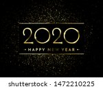 happy new year of glitter gold... | Shutterstock .eps vector #1472210225