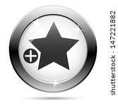metallic icon with black design ... | Shutterstock . vector #147221882