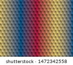 abstract polygon pastel color... | Shutterstock .eps vector #1472342558