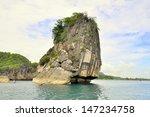 Limestone Rock Outcropping  ...