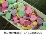 Multi Colored Heart Shaped...