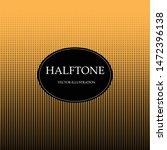halftone. glitter abstract... | Shutterstock .eps vector #1472396138