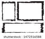 abstract grunge border frames... | Shutterstock .eps vector #1472516588