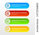 color banners. a vivid...   Shutterstock .eps vector #1472536802