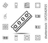 hardware  memory  ram icon....