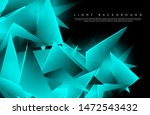 triangular background. abstract ... | Shutterstock .eps vector #1472543432