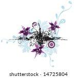 illustration of a floral...   Shutterstock .eps vector #14725804