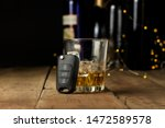 alcoholic drink with ice in a... | Shutterstock . vector #1472589578