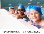 portrait of children in water... | Shutterstock . vector #1472635652