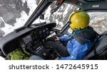 Helicopter In The Mountains....
