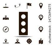 traffic  light icon. simple...