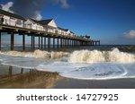 Southwold Pier In Suffolk  Uk....