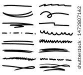 handmade collection set of... | Shutterstock .eps vector #1472807162