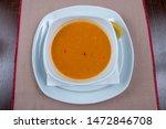 mercimek corbas   lentil soup... | Shutterstock . vector #1472846708