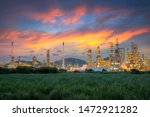 Landscape Of Oil And Gas...