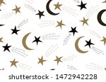 seamless pattern with stars and ... | Shutterstock .eps vector #1472942228