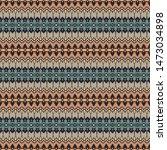 vintage bandana print  silk... | Shutterstock .eps vector #1473034898