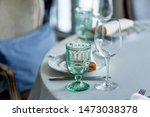classic table setting at the... | Shutterstock . vector #1473038378