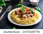 Spaghetti With Bolognese Sauce  ...