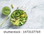 fresh summer salad with avocado ... | Shutterstock . vector #1473137765