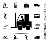 counterbalanced forklift truck...