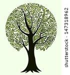 isolated tree | Shutterstock .eps vector #147318962