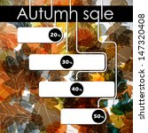 autumn discount sale  jpg | Shutterstock . vector #147320408