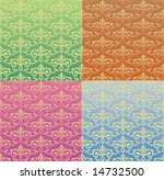 retro background and texture | Shutterstock .eps vector #14732500