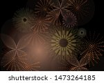 Abstract Fireworks With Vectors ...