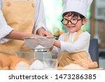 cute little asian boy and...   Shutterstock . vector #1473286385