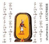 stone board or clay tablet with ...