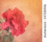 Art Floral Vintage Background...