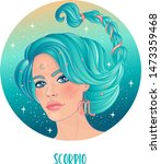 illustration of scorpio... | Shutterstock .eps vector #1473359468