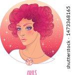 illustration of aries... | Shutterstock .eps vector #1473368165