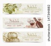 wine and winemaking   vector... | Shutterstock .eps vector #147344882